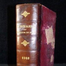 Libros antiguos: EL MENSAJERO DEL CORAZÓN DE JESÚS Y DEL APOSTOLADO DE LA ORACIÓN. 1910, AÑO COMPLETO. Lote 144157458