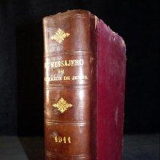 Libros antiguos: EL MENSAJERO DEL CORAZÓN DE JESÚS Y DEL APOSTOLADO DE LA ORACIÓN. 1911, AÑO COMPLETO. Lote 144157618