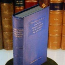 Libros antiguos: FUNDACIÓN DEL MONASTERIO DEL ESCORIAL POR FELIPE II - FRAY JOSE DE SIGÜENZA - MADRID - 1927 -. Lote 144626806