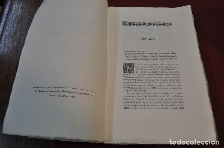 Libros antiguos: Obres doctrinals del illuminat doctor mestre Ramon Lull - Edició original volum I - llull - aclm - Foto 4 - 145115646