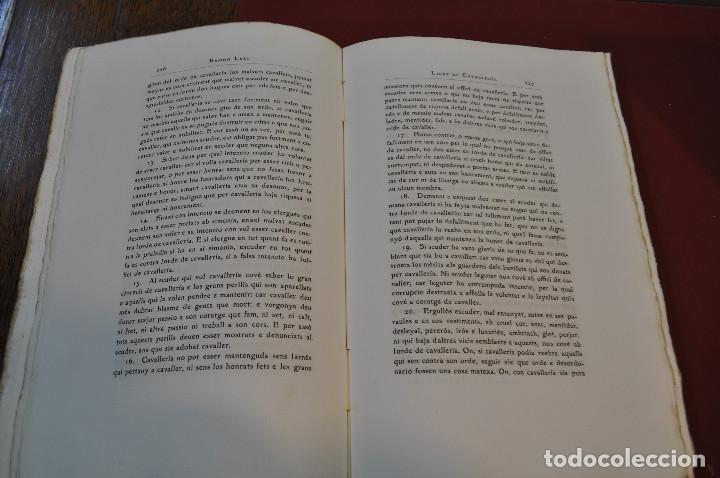 Libros antiguos: Obres doctrinals del illuminat doctor mestre Ramon Lull - Edició original volum I - llull - aclm - Foto 6 - 145115646