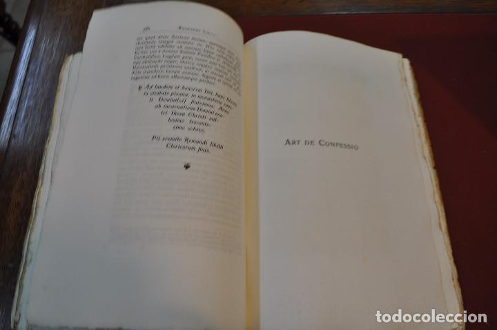 Libros antiguos: Obres doctrinals del illuminat doctor mestre Ramon Lull - Edició original volum I - llull - aclm - Foto 7 - 145115646