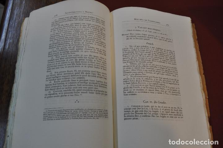 Libros antiguos: Obres doctrinals del illuminat doctor mestre Ramon Lull - Edició original volum I - llull - aclm - Foto 8 - 145115646