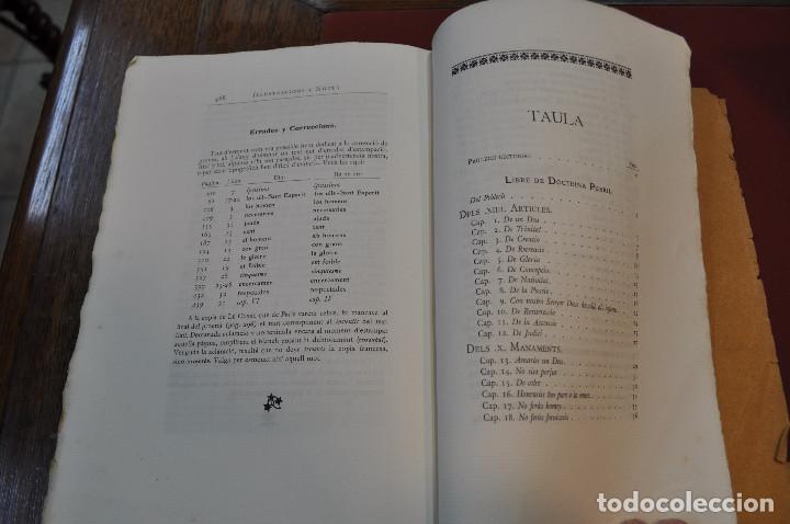 Libros antiguos: Obres doctrinals del illuminat doctor mestre Ramon Lull - Edició original volum I - llull - aclm - Foto 9 - 145115646