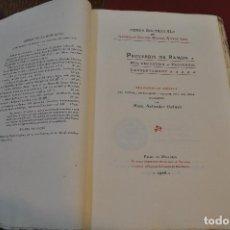 Libros antiguos: OBRES DOCTRINALS DEL ILLUMINAT DOCTOR MESTRE RAMON LULL - EDICIÓ ORIGINAL VOLUM XIV - LLULL - ACLM. Lote 145142714