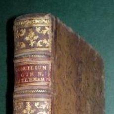 Libros antiguos: SACROSANCTUM OECUNEMICUM CONCILIUM TRIDENTINUM (CONCILIO DE TRENTO). Lote 145570822
