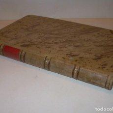 Libros antiguos: LIBRO TAPAS DE PIEL.TRATADO DE LAS VIRGENES ESCRITO POR SAN AMBROSIO.. Lote 145648350