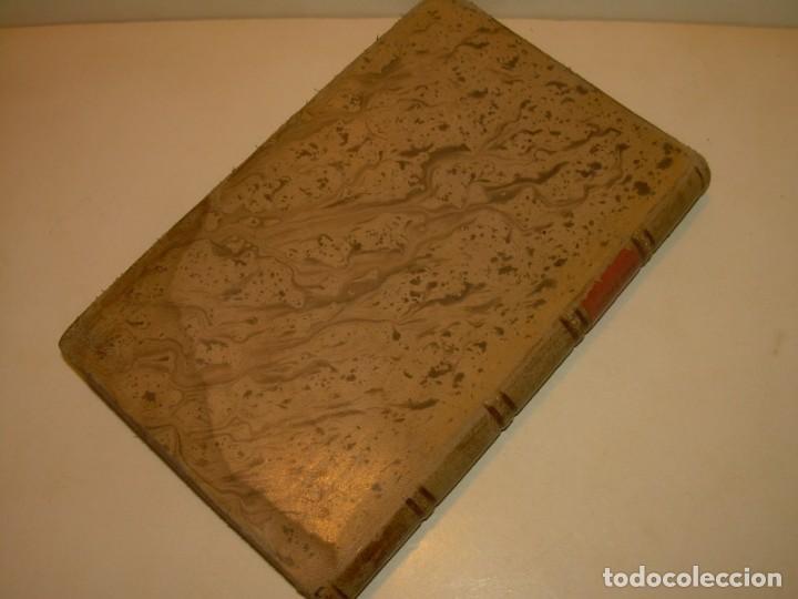 Libros antiguos: LIBRO TAPAS DE PIEL.TRATADO DE LAS VIRGENES ESCRITO POR SAN AMBROSIO. - Foto 13 - 145648350