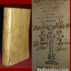 Libros antiguos: BELLISIMO LIBRO EN PERGAMINO DE 1568 - NO CATALOGADO EN ESPAÑA. Lote 146163850