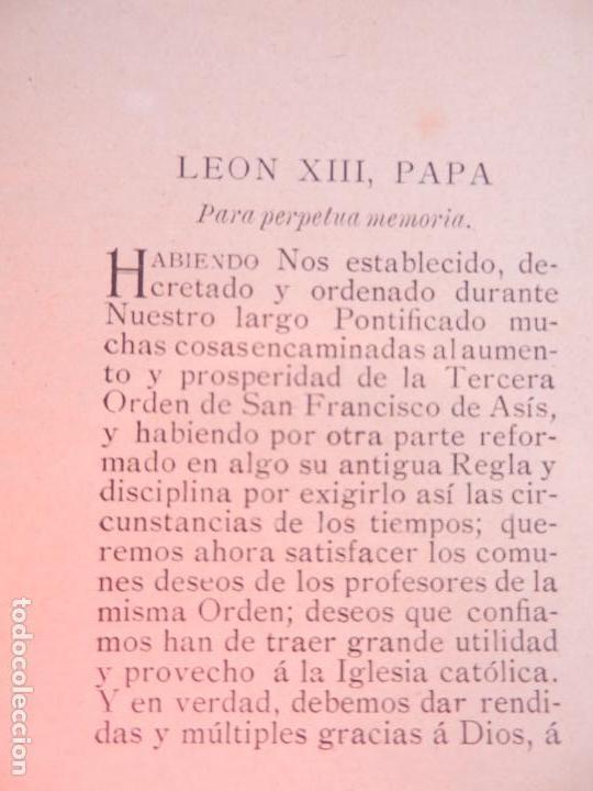 Libros antiguos: BREVE IMPORTANTISIMO DE SU SANTIDAD EL PAPA LEÓN XIII ... - CASA DE LA SAGRADA FAMILIA CÁDIZ 1901. - Foto 2 - 146313742