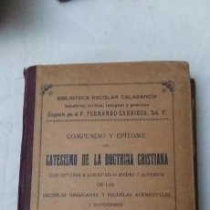 Libros antiguos: CATECISMO 1921. Lote 146411386