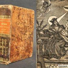 Libros antiguos: 1791 - VIDA DE SANTA TERESA DE JESÚS - ÁVILA - CARMELITAS - MURCIA - MEDITACIONES -. Lote 146423246