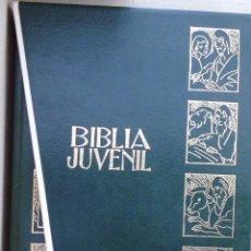 Libros antiguos: BIBLIA JUVENIL EN DOS TOMOS ANTIGUO Y NUEVO TESTAMENTO MIRA LAS FOTOS LOTE Nº 1. Lote 146458218
