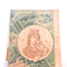 Libros antiguos: NOVENA A NTRA. SRA. DEL PERPETUO SOCORRO - SATURNINO CALLEJA MARID 1901.. Lote 146562898