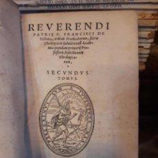 Libros antiguos: REVERENDI AÑO 1557. Lote 146668854