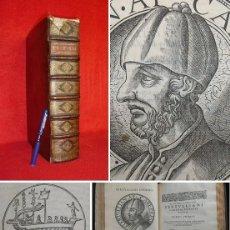 Libros antiguos: AÑO 1583 - 35CM - TERTULIANO - OBRAS COMPLETAS - GRABADOS - COMPLETO - FOLIO -4,3KG -ENORME EJEMPLAR. Lote 146812354