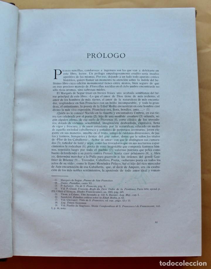 Libros antiguos: FLORECILLAS DE SAN FRANCISCO DE ASÍS. ILUSTR. JOSÉ SEGRELLES. 1923. - Foto 9 - 146885062