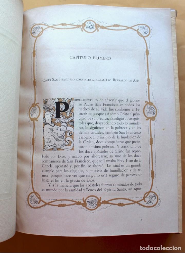 Libros antiguos: FLORECILLAS DE SAN FRANCISCO DE ASÍS. ILUSTR. JOSÉ SEGRELLES. 1923. - Foto 11 - 146885062