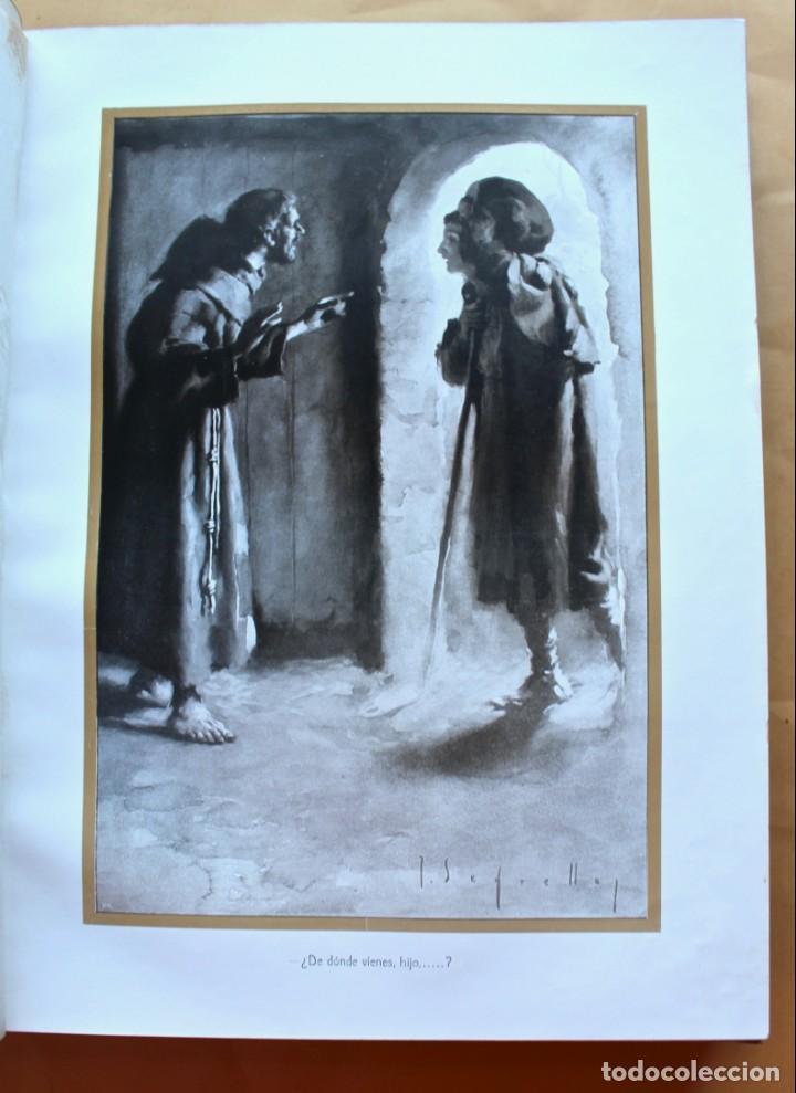 Libros antiguos: FLORECILLAS DE SAN FRANCISCO DE ASÍS. ILUSTR. JOSÉ SEGRELLES. 1923. - Foto 14 - 146885062