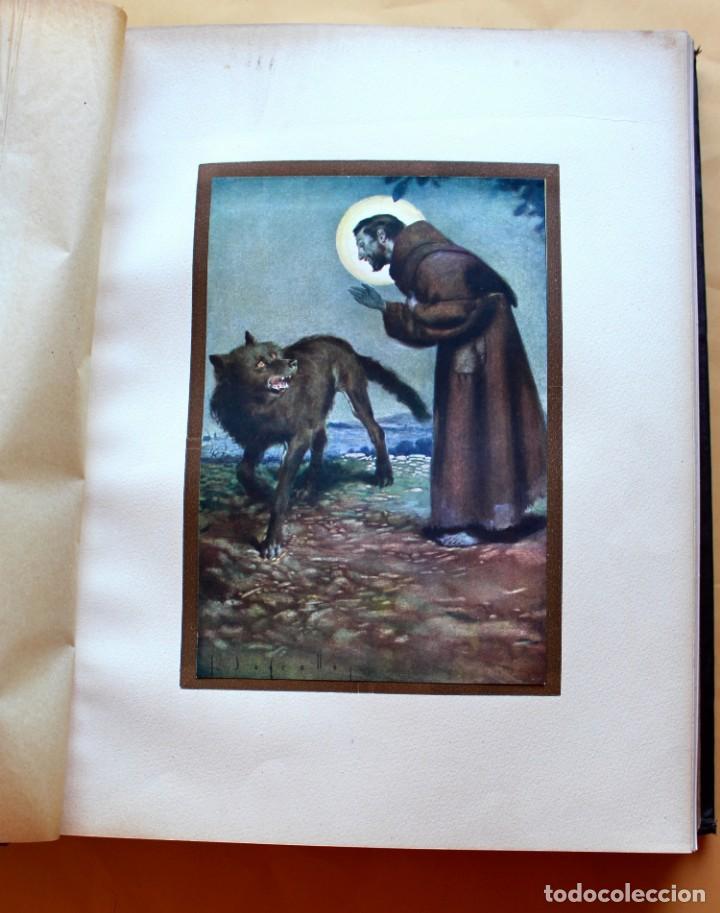 Libros antiguos: FLORECILLAS DE SAN FRANCISCO DE ASÍS. ILUSTR. JOSÉ SEGRELLES. 1923. - Foto 16 - 146885062