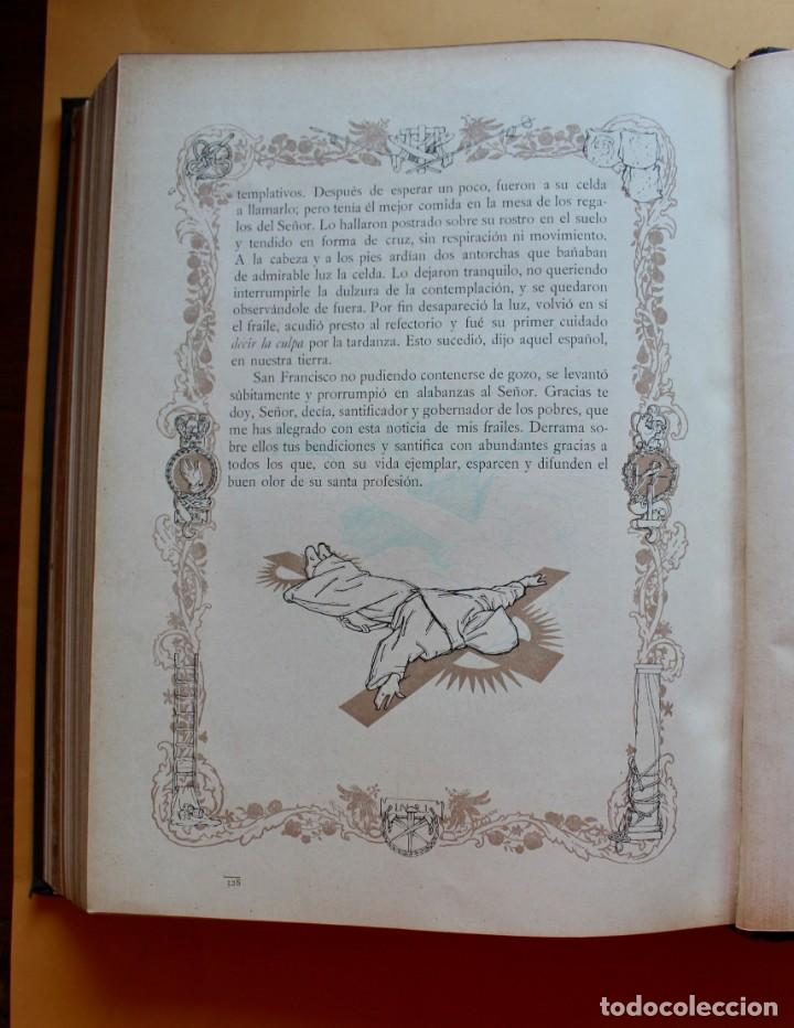 Libros antiguos: FLORECILLAS DE SAN FRANCISCO DE ASÍS. ILUSTR. JOSÉ SEGRELLES. 1923. - Foto 18 - 146885062
