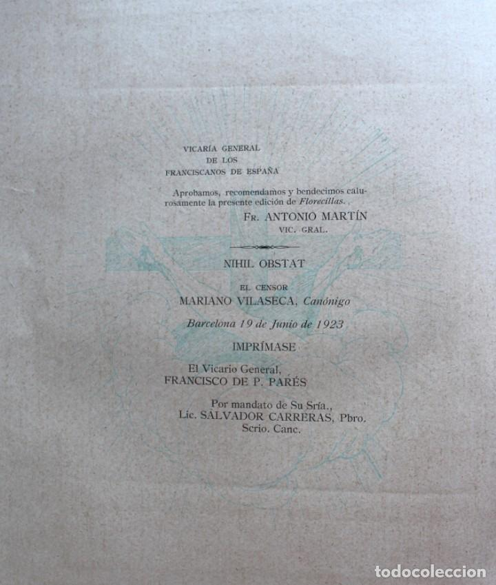 Libros antiguos: FLORECILLAS DE SAN FRANCISCO DE ASÍS. ILUSTR. JOSÉ SEGRELLES. 1923. - Foto 20 - 146885062