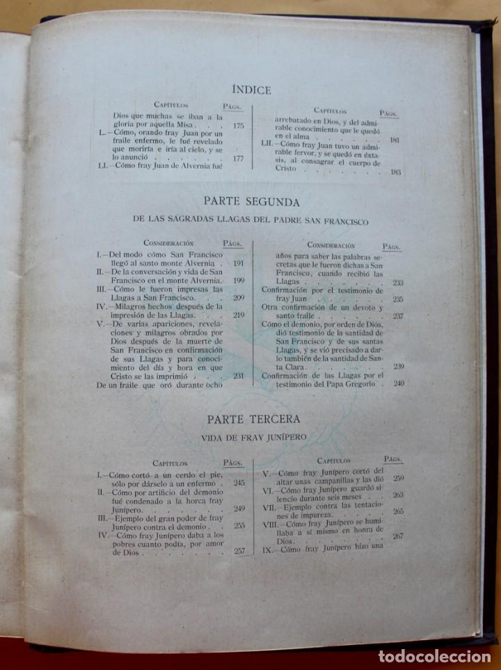 Libros antiguos: FLORECILLAS DE SAN FRANCISCO DE ASÍS. ILUSTR. JOSÉ SEGRELLES. 1923. - Foto 23 - 146885062
