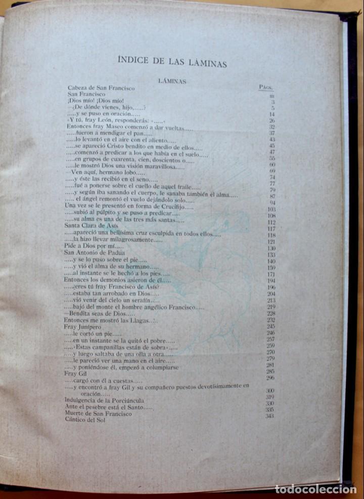 Libros antiguos: FLORECILLAS DE SAN FRANCISCO DE ASÍS. ILUSTR. JOSÉ SEGRELLES. 1923. - Foto 24 - 146885062