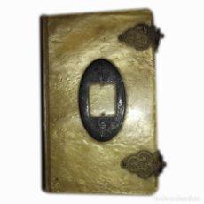 Libros antiguos: 1929. MANUAL EUCARISTIC PREPARACIÓ PER A LA CONFESSIO I COMUNIO. NACAR. PRECIOSA ENCUADERNACIÓN.. Lote 114299659