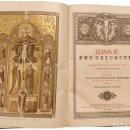 Libros antiguos: EXCEPCIONAL LIBRO DE DIFUNTOS,MISSAE PRO DEFUNCTIS 1889, , RATISBONA, FREDERICI PUSTET.. Lote 146938526