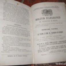 Libros antiguos: BOLETIN OFICIAL ECLESIASTICO DEL ARZOBISPADO DE BURGOS . TOMO 31 , AÑO 1888. Lote 146954926