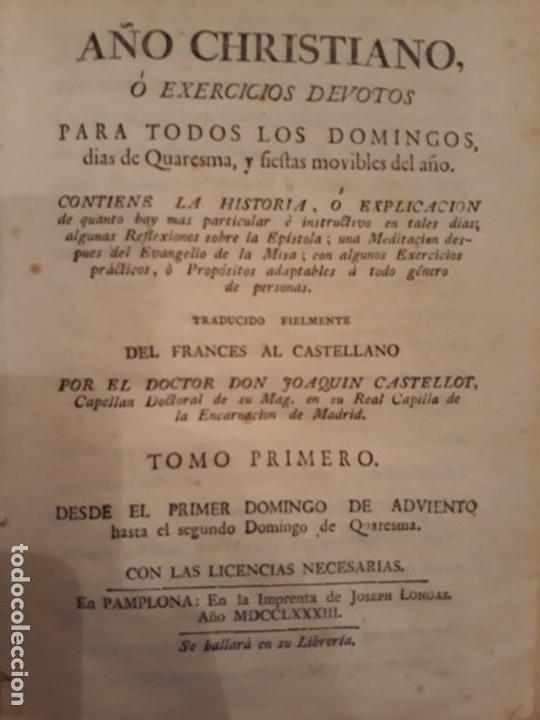 Libros antiguos: Lote de 10 libros siglo XVIII Algunas páginas de Quixote siglo XVIII. Quijote - Foto 5 - 105207467