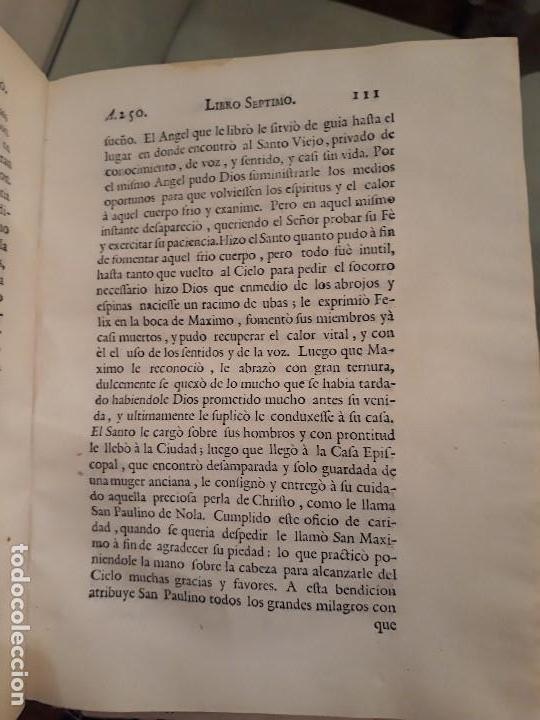 Libros antiguos: Lote de 10 libros siglo XVIII Algunas páginas de Quixote siglo XVIII. Quijote - Foto 11 - 105207467