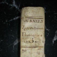 Libros antiguos: INSTITUTIONES THEOLOGICAE PETRUS COLET 1757 VENETIIS TOMUS TERTIUS . Lote 147697014