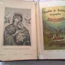 Libros antiguos: MANUAL DEL DEVOTO DE NUESTRA SEÑORA DEL PERPETUO SOCORRO. POR UN PADRE REDENTORISTA. 1890, SUIZA -. Lote 213792771