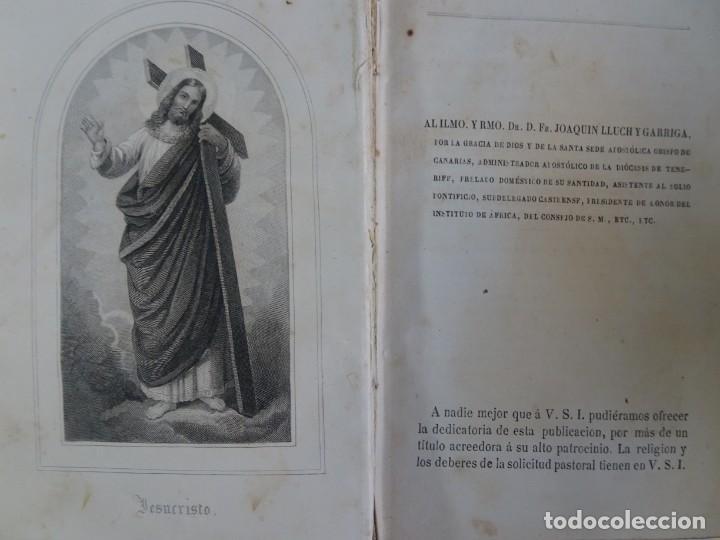 Libros antiguos: LOTE DE 8 ANTIGUOS LIBROS RELIGIOSOS, VER FOTOS - Foto 3 - 148047682