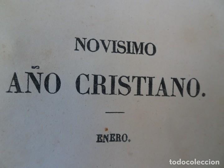 Libros antiguos: LOTE DE 8 ANTIGUOS LIBROS RELIGIOSOS, VER FOTOS - Foto 4 - 148047682