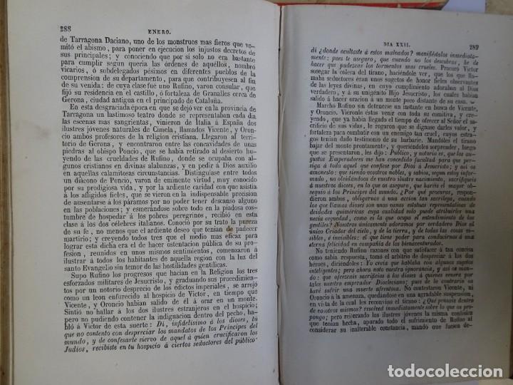 Libros antiguos: LOTE DE 8 ANTIGUOS LIBROS RELIGIOSOS, VER FOTOS - Foto 5 - 148047682