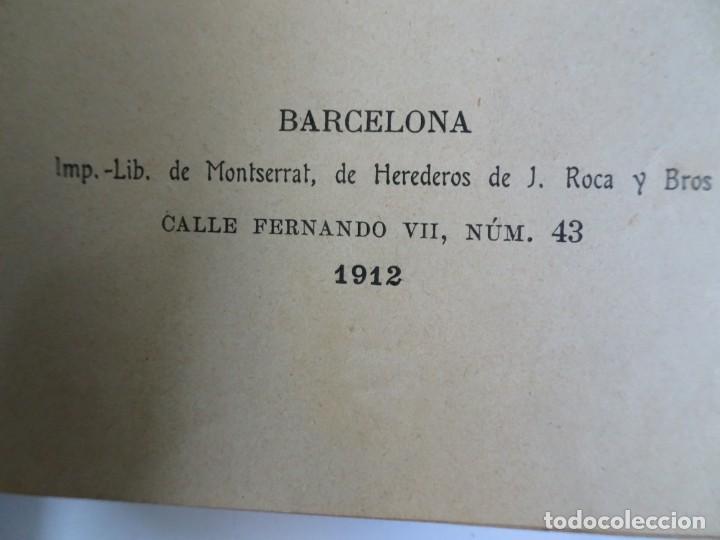 Libros antiguos: LOTE DE 8 ANTIGUOS LIBROS RELIGIOSOS, VER FOTOS - Foto 10 - 148047682