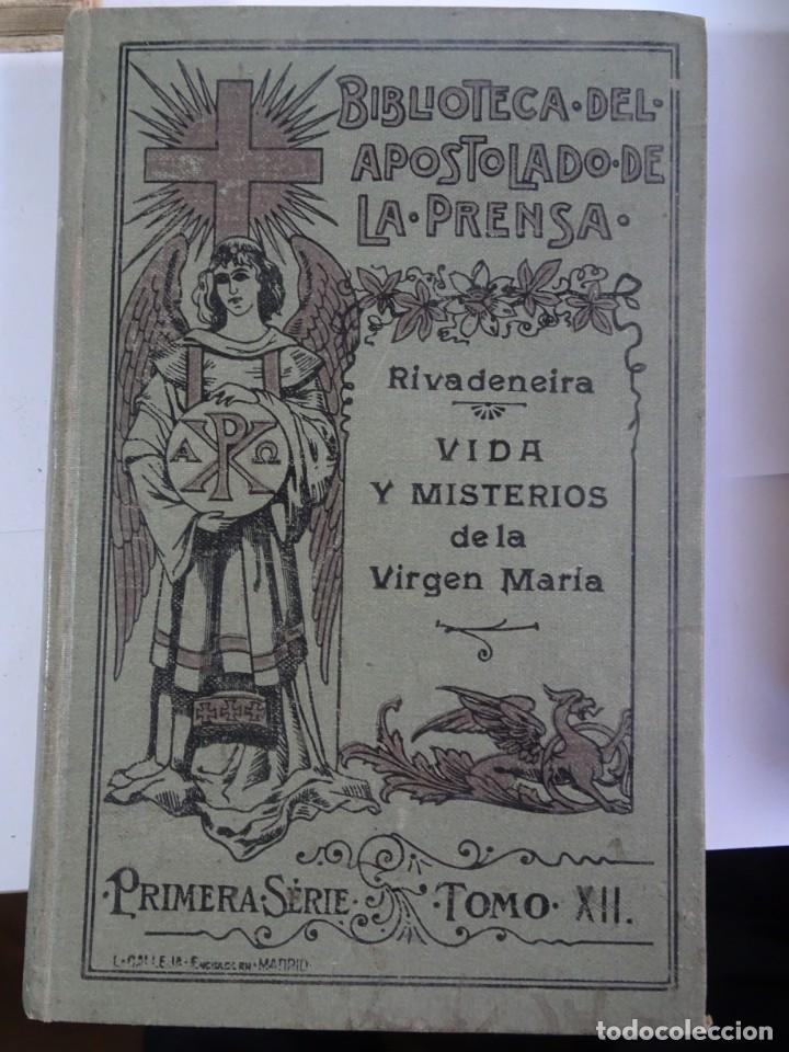 Libros antiguos: LOTE DE 8 ANTIGUOS LIBROS RELIGIOSOS, VER FOTOS - Foto 13 - 148047682