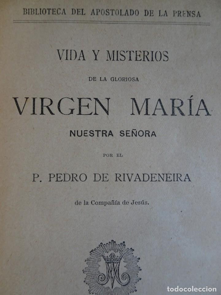 Libros antiguos: LOTE DE 8 ANTIGUOS LIBROS RELIGIOSOS, VER FOTOS - Foto 15 - 148047682
