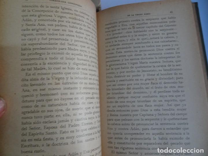 Libros antiguos: LOTE DE 8 ANTIGUOS LIBROS RELIGIOSOS, VER FOTOS - Foto 16 - 148047682