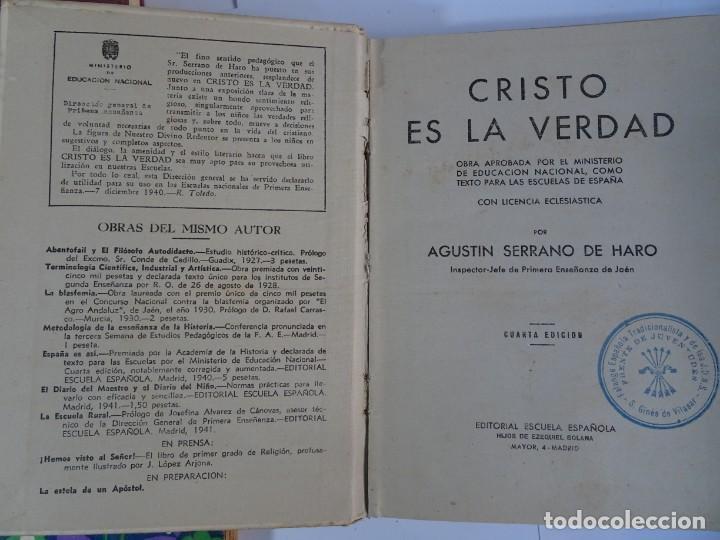 Libros antiguos: LOTE DE 8 ANTIGUOS LIBROS RELIGIOSOS, VER FOTOS - Foto 18 - 148047682