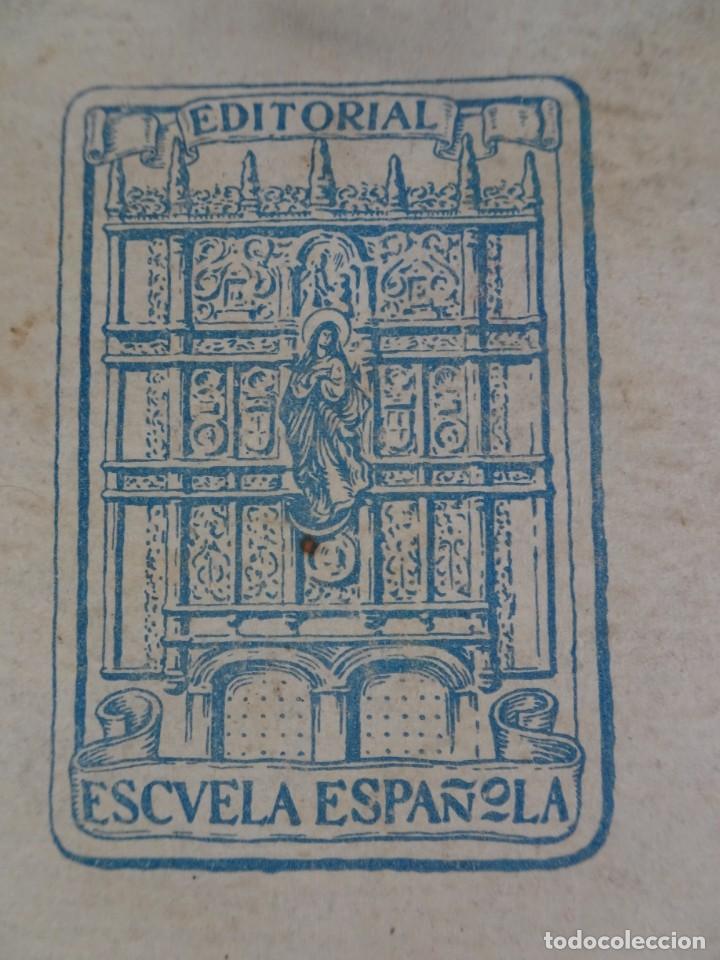 Libros antiguos: LOTE DE 8 ANTIGUOS LIBROS RELIGIOSOS, VER FOTOS - Foto 20 - 148047682