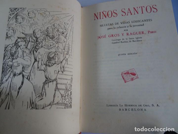 Libros antiguos: LOTE DE 8 ANTIGUOS LIBROS RELIGIOSOS, VER FOTOS - Foto 24 - 148047682
