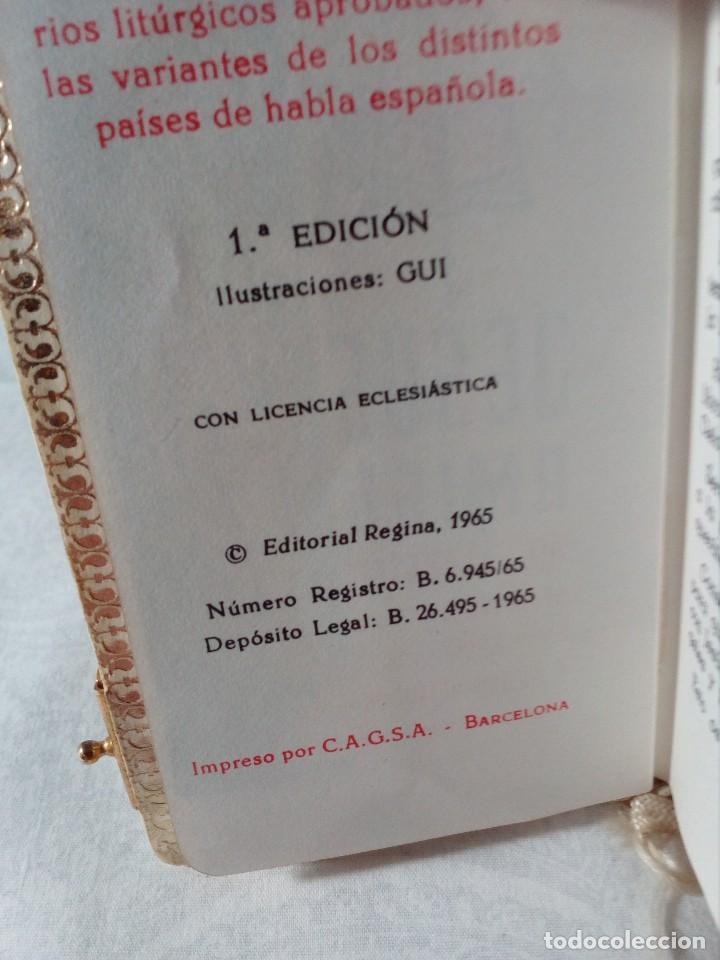Libros antiguos: DEVOCIONARIO PARA NIÑOS Y NIÑAS SÍMIL DE NÁCAR DE 1965 POR P. LUIS RIBERA. - Foto 2 - 148707310