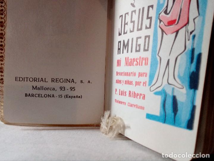 Libros antiguos: DEVOCIONARIO PARA NIÑOS Y NIÑAS SÍMIL DE NÁCAR DE 1965 POR P. LUIS RIBERA. - Foto 5 - 148707310