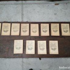 Libros antiguos: GRAN LOTE DE 44 REVISTAS ANALES DE LA PROPAGACIÓN DE LA FÉ - DE 1891 A 1908 - PARÍS -. Lote 148827666