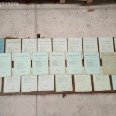 Libros antiguos: LOTE DE 23 REVISTAS LA CIENCIA CRISTIANA - AÑOS 1881 - EJEMPLARES INTONSOS -. Lote 148829230