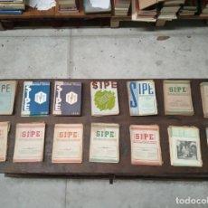 Libros antiguos: GRAN LOTE DE 165 REVISTAS SIPE - INF. Y CRÍTICAS DE CINE, TEATRO, LIBROS, REVISTAS - 1945-1951 - . Lote 148830606